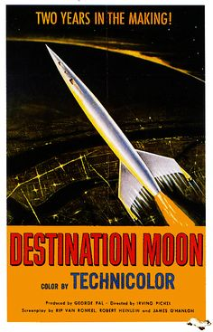 Destination Moon - 1950 movie poster