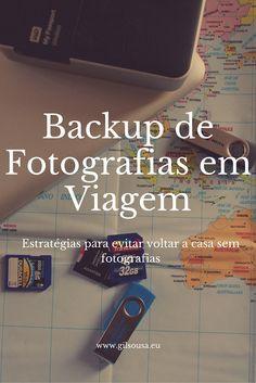#Backup de #Fotografias em #Viagem