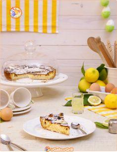 Crostata di Ricotta al limone e mandorle #ricette #pasqua