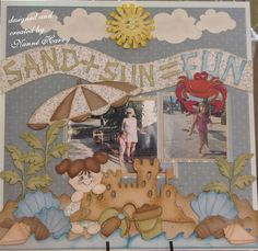 Sand+Sun=Fun - Scrapbook.com    By Nanne Harry