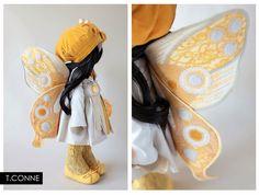 Beautiful things: Yellow. Love her wings