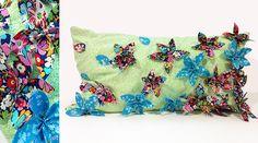 Flowering petal cushion