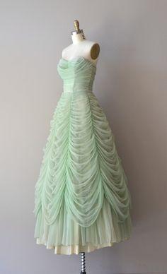 Austrian Waltz dress 1950s dress vintage 50s by DearGolden