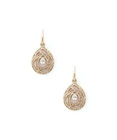 Eye Candy LA Rose Goldtone Avah Earrings | zulily