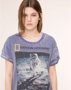 NATIONAL GEOGRAPHIC T-SHIRT - NEW PRODUCTS - NEW PRODUCTS - PULL&BEAR Turkey