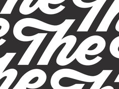The designed by Loren Klein. Creative Typography Design, Typography Love, Typographic Design, Typography Letters, Types Of Lettering, Script Lettering, Calligraphy, Type Design, Logo Design