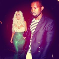 for Halloween: Kim Kardashian and Kanye West as a mermaid and a sailor  so love it!    Via Kim Kardashian/Twitter