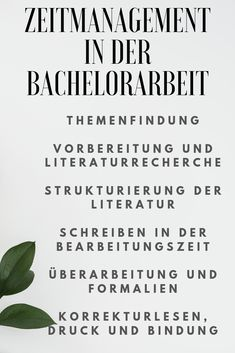 Zeitmanagement in der Bachelorarbeit Important tips for time management during the bachelor thesis # Effective Time Management, Time Management Strategies, Time Management Skills, Management Tips, Science Notes, Life Science, Science Anchor Charts, Teaching Time, Feeling Stressed