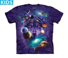 Wolf T-Shirt | Wolves of the Cosmos Kids