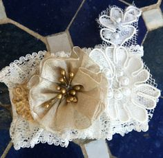 One in a Millinery - bridal cuff