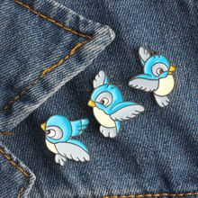 Animal Beautiful Bird Unicorn Metal Brooch Button Pins Denim Jacket Pin Jewelry Decoration Badge For Clothes Lapel Pins Large Assortment Badges