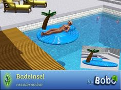 Sims 3 Finds - Bathing island by bobo at Sims 3 Community