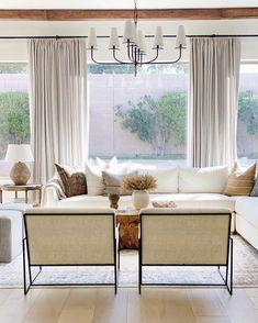 Home Living Room, Living Room Furniture, Living Spaces, Kitchen Living, Room Inspiration, Design Inspiration, Family Room, Interior Design, Interior Decorating