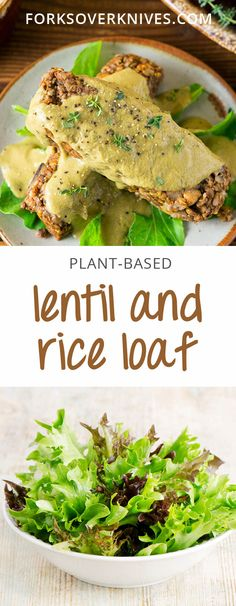 This flavorful lentil loaf is perfect for anytime you want a hearty main dish. It is delicious topped with creamy mushroom gravy!
