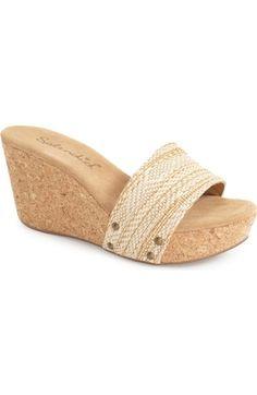 Splendid 'Greenwich' Platform Wedge Sandal (Women) available at #Nordstrom