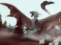 Listen to every Drake track @ Iomoio Wings Of Fire Dragons, Cool Dragons, Creature Concept Art, Creature Design, Magical Creatures, Fantasy Creatures, Fantasy Dragon, Fantasy Art, Creature Drawings