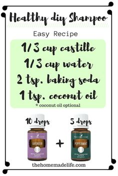 1000 ideas about castor oil hair on pinterest castor oil hair treatment black castor oil and - How to make shampoo at home naturally easy recipes ...