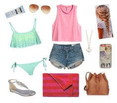 """""""Beach day!"""" by lucysenior ❤ liked on Polyvore"""