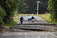 A major 6.3 magnitude aftershock has rocked New Zealand just north of where a massive 7.8 earthquake struck hours earlier. The aftershock hit shortly after