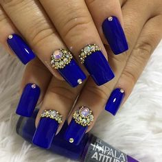 40 the super cool blue acrylic nails ideas in 2019 - nail art connect Blue Acrylic Nails, Summer Acrylic Nails, Acrylic Nail Designs, Nail Art Designs, Prevent Wrinkles, Dog Snacks, Breakfast For Kids, Cookies Et Biscuits, Nails Inspiration