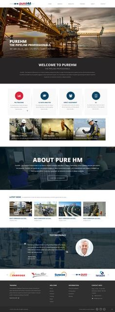Design an Amazing site for an Oil
