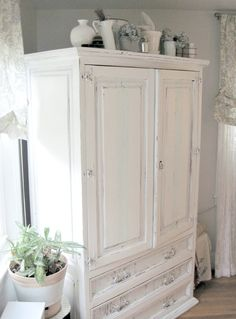 Delicieux Hand Painted Armoire At Theodaurau0027s Located At Feathered Nest Market In OKC  | My Painted Pieces | Pinterest | Armoires, Nest And Paint Furniture