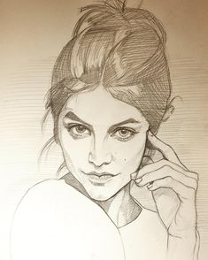"5,909 Likes, 32 Comments - Kristi Williams Olson (@sphynxmom) on Instagram: ""Another daily sketch #portrait #graphite #dailysketch #draweveryday #sktchyinspired #chicagoartist…"""