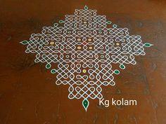 Indian Rangoli, Kolam Rangoli, Simple Rangoli, Rangoli Designs Images, Beautiful Rangoli Designs, Muggulu Design, Rangoli Ideas, Rangoli With Dots, Crochet Bows