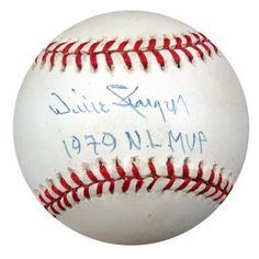 Willie Stargell Autographed NL Baseball 1979 NL MVP PSA/DNA #Q36945 . $229.00. This is an Official National League Baseball that has been hand signed by Willie Stargell. The autograph has been authenticated by PSA/DNA. It comes with their hologram sticker and matching certificate.