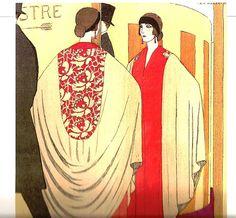Espelho, 1922, ilustração de André Edouard Marty.