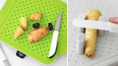 Clever Cutting Board Keeps Your Fingers Well Clear Of the Blade