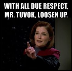 This describes Tuvok so well.