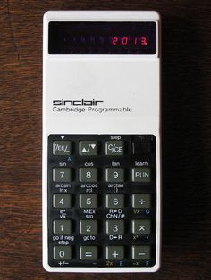 #Sinclair #Cambridge #Programmable #Calculator (around 1975) #retrocomputing #vintagecomputer