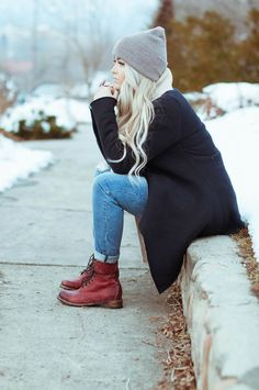 Winter style. Shop this winter look at trendslove http://www.trendslove.com/hashtag/winter