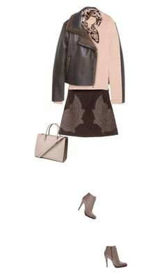 """Soft & Warm"" by yasminasdream ❤ liked on Polyvore featuring MANGO, Miu Miu, Calvin Klein, Lanvin and H&M"