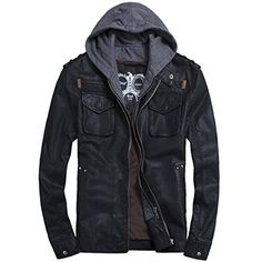 Partiss Men's Zip Up PU Leather Hooded Biker Jacket Chinese 4XL,Black Partiss http://www.amazon.com/dp/B018AMA4DM/ref=cm_sw_r_pi_dp_XFMZwb1R14KB5