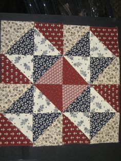 barbra brackman's civil war sampler- block 6