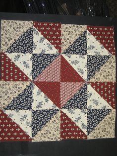 barbra brackman's civil war sampler- block 6