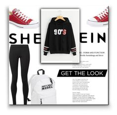 """""""90s look"""" by laaudra-rasco ❤ liked on Polyvore featuring Converse and The Row"""