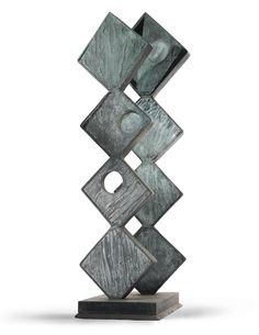 Barbara Hepworth, SQUARE FORMS (TWO SEQUENCES), 1966