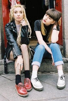 out of town punk grunge fashion-   yes, thats raw style