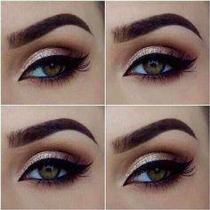 Eye Makeup For Brown Eyes Tips, Eye Makeup Tutorial Pics. Mac Eye Makeup Tutorial For Beginners from Eye Makeup Tips For Older Ladies Eyeliner Make-up, Black Eyeliner Makeup, Dramatic Eyeliner, Prom Eye Makeup, Hazel Eye Makeup, Homecoming Makeup, Makeup For Green Eyes, Natural Eye Makeup, Eye Makeup Tips
