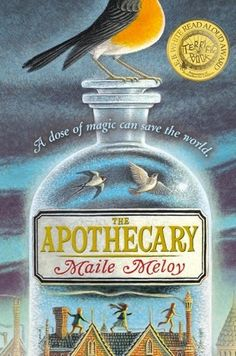 June 2013- The Apothecary by Maile Meloy- Link to Pinboard:  http://pinterest.com/discoveryed/june-2013-denbrarian-the-apothecary/
