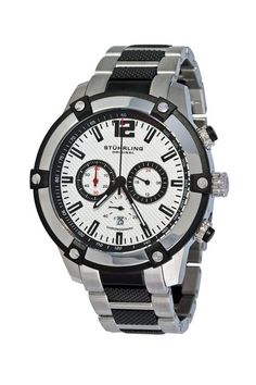 Stuhrling     Men's Victory Rider Quartz Chronograph Watch