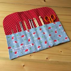 Cath Kidston Stanley Dog Crochet Hook Roll by SimplyWishes on Etsy