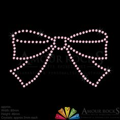 choose the smart bow hotfix rhinestone transfer, easy to use and apply to most fabric and material, choice of rhinestone designs, custom made to order with fast delivery Lite Brite, Rhinestone Transfers, Ova, Iron On Transfer, Fashion Face Mask, Bling Bling, Rhinestones, Crystals, Places