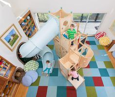 Rhapsody 11 Indoor Playsets And Playbeds | CedarWorks