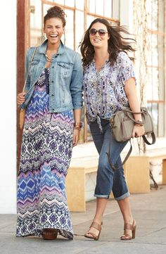 Lucky Brand Top & Crop Jeans | Nordstrom..like the shoes.