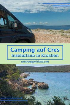Bei unserem Sommerroadtrip 2020 haben wir spontan auf der kroatischen Insel Cres Camping-Urlaub eingelegt. Das waren fünf herrlich entspannte Tage mit Insel-Feeling pur in traumhafter Natur an der Adria. Wie wir beim Camping Cres kennengelernt haben, berichte ich hier – von der Anreise im Wohnmobil mit der Fähre nach Cres über Tipps zu unserem Campingplatz Slatina bis hin zu ausgewählten Sehenswürdigkeiten auf Cres und Losinj, mit jeder Menge Bilder. Road Trip, Cres Croatia, Viajes, Croatian Islands, Road Trips