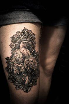 Fancy vulture.